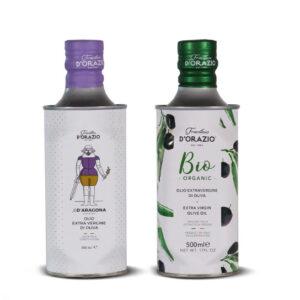 """Olio extravergine di oliva """"Bio Organic"""" Frantoio D'Orazio"""